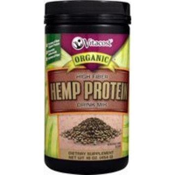 Smart Basics Vitacost Organic Hemp Protein High Fiber Drink Mix -- 16 oz
