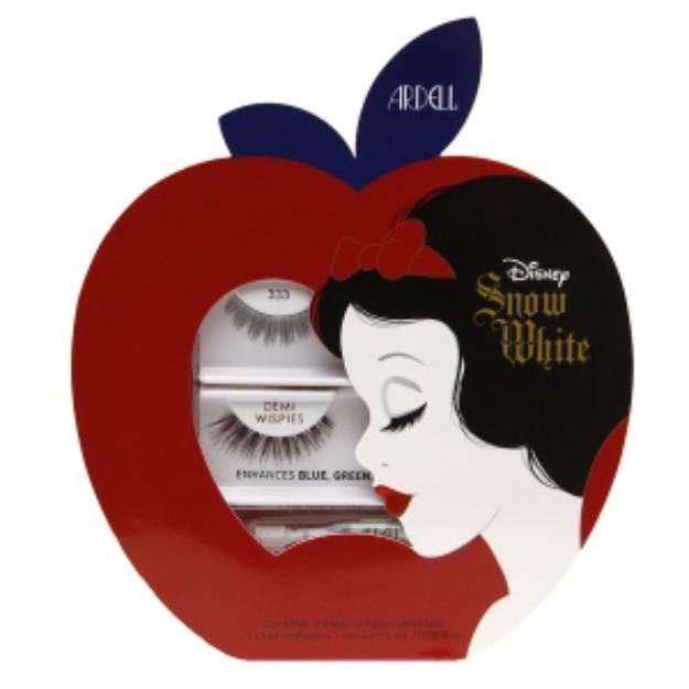 Ardell Snow White Lash Kit with Adhesive, Enhances Blue, Green & Hazel Eyes, 1 set