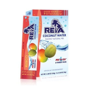 Reva Coconut Water Instant Natural Mix, Mango, 8-Count (Pack of 3)