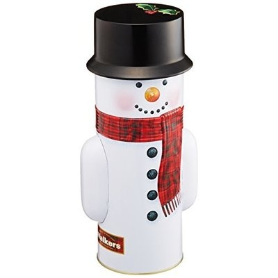 Walkers Snowman Tin Mini Stars, 7.00 ounce