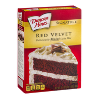 Duncan Hines Signature Red Velvet Moist Cake Mix