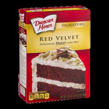 Duncan Hines Signature Red Velvet Moist Cake Mix