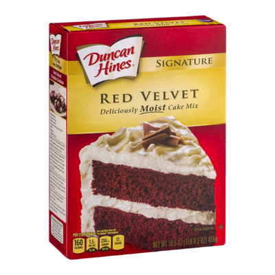 Baked Duncan Hines Cake Mix Nutrition