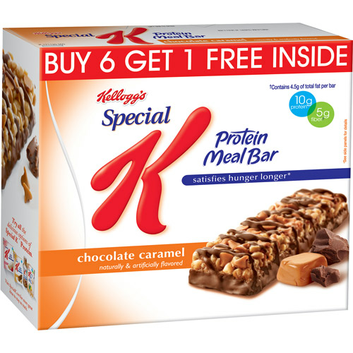 Special K® Kellogg Chocolate Caramel Protein Meal Bars