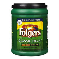 Folgers Classic Ground Coffee - Decaffeinated