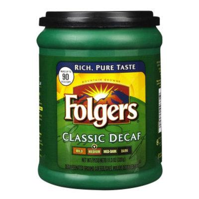 Folgers Classic Ground Coffee - Decaffeinated