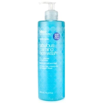Bliss Fabulous Foaming Face Wash 15.5 oz