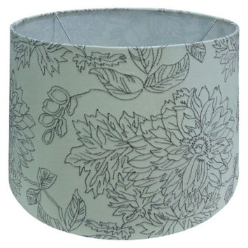 Threshold Toile Stich Lamp Shade Large - Shell