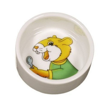 RC Hagen 61660 Living World Ceramic Dish for Hamsters