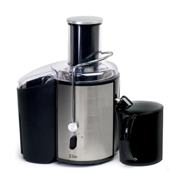 Maxi-matic Maxi-Matic - Elite Platinum Whole Fruit Juice Extractor - Black/Silver