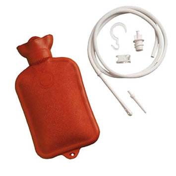 Mabis Healthcare Combination Douche & Enema System with Water Bottle