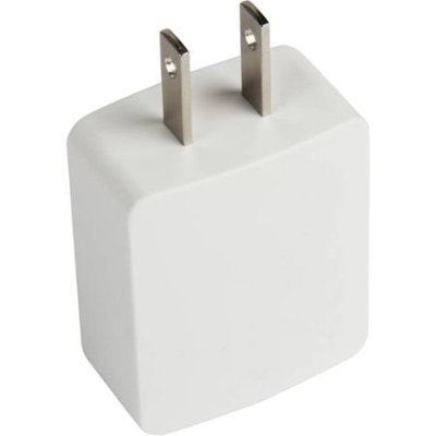 @.com Wall Charger with Lightning Cable, White