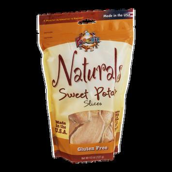 Poochie Naturals Gluten Free Dog Treat Slices Sweet Potato