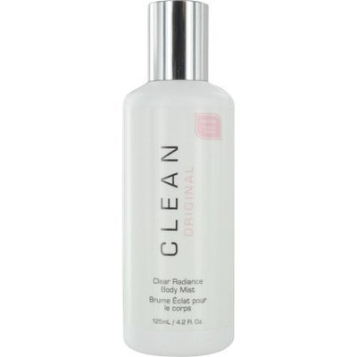 Dlish Clean Clear Radiance Body Mist for Women, 4.2 Ounce