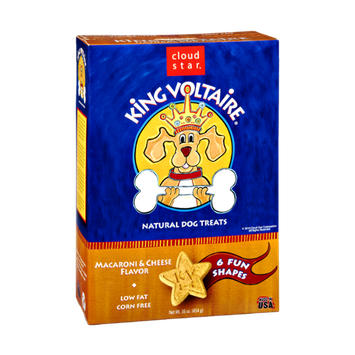 Cloud Star King Voltaire Macaroni & Cheese Flavor Natural Dog Treats