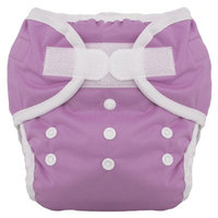 Thirsties Duo Diaper Set - Orchid Size One