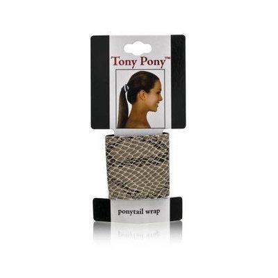 Mia Beauty Tony Pony Wrap, Black Patent, 0.05 Ounce