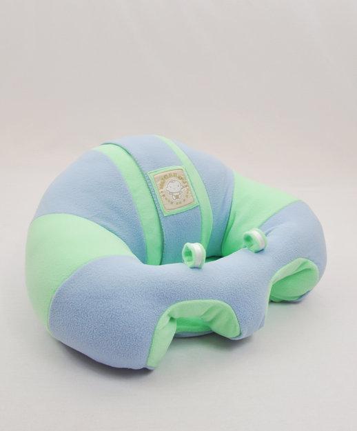 Cam Consumer Products, Inc. Hugaboo Infant Support Seat Fleece - Snugglebuns Blue w Green