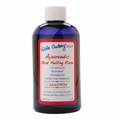Dale Audrey Ayurvedic Oral Pulling Rinse, Cinnamon, 8 oz