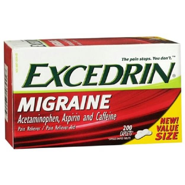 Excedrin Migraine Pain Reliever Caplets