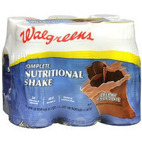 Walgreens Complete Nutritional Shake 6 Pack