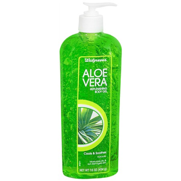 Walgreens Aloe Vera Replenishing Body Gel