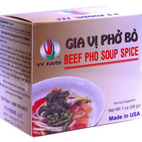 VV Foods Vietnamese Beef Pho Noodle Soup Spice, 1-Ounce Boxes (Pack of 10)