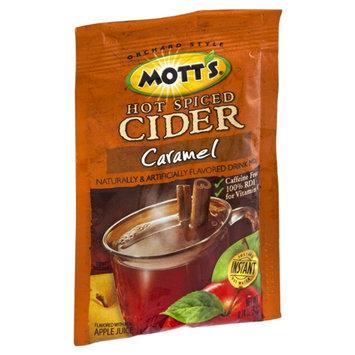 Mott's Hot Spiced Cider Caramel Flavored Drink Mix