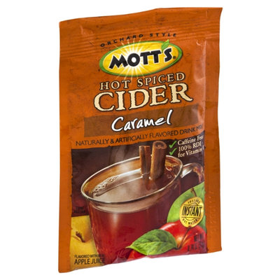 Mott's Hot Spiced Cider Caramel Flavored Drink Mix