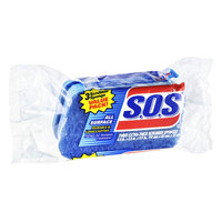 S.O.S. All Surface Extra-Thick Scrubber Sponges - 3 CT