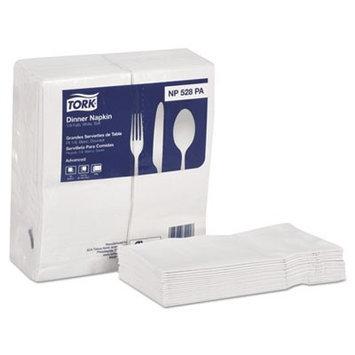 SCA Tork Universal White Dinner Napkin, 2-Ply