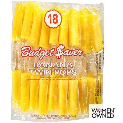 Budget Saver Banana Twin Pops, 18ct