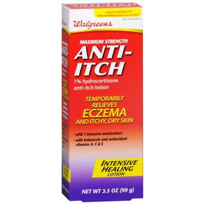 Walgreens Anti-Itch Intensive Healing Lotion, 3.5 oz