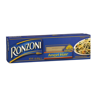 Ronzoni Enriched Macaroni Product Angel Hair