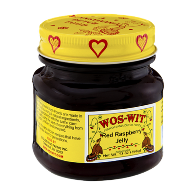 Wos-Wit Red Raspberry Jelly