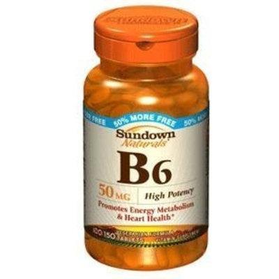 VIT B 6 Vit B-6 Tablets 50 Mg Sundown, Size: 100+50