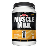 CytoSport Muscle Milk Protein Powder, Orange Creme, 2.48 lbs