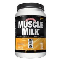 CytoSport Muscle Milk Protein Powder, Orange Creme, 2.48 lbs