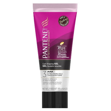 Pantene Pro-V Curly Hair Style Curl Shaping Hair Gel, 6.8 oz