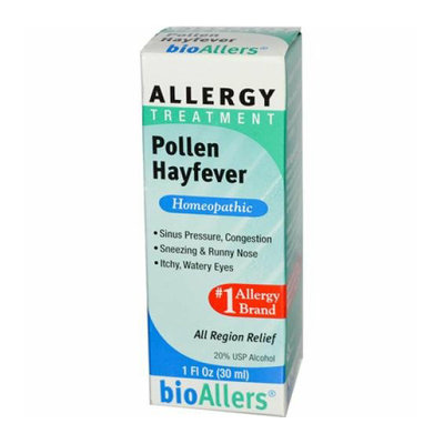 Bio-Allers Allergy Treatment Pollen Hayfever 1 fl oz