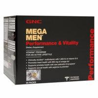 GNC Mega Men Performance & Vitality Vitapak Program, 30 ea