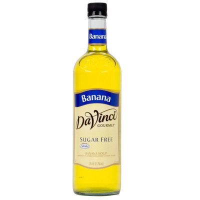 DaVinci Gourmet Banana Sugar Free Coffee Flavoring Syrup