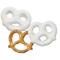 Albanese Confectionery White Chocolate Pretzels: 10 LBS
