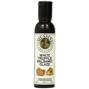 Mussini Crema, Tartufo Balsamic Glaze with Truffle, 5.07-Ounce Bottles (Pack of 2)