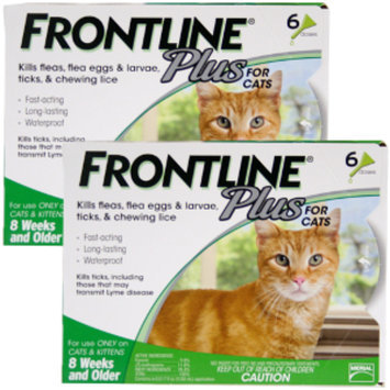 Merial Frontline Plus for Cats - 12-Pack