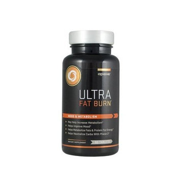 Apex Fitness Apex Ultra Fat Burn, Boosts Engergy While Controlling Appetite, 60 Tablet Bottle