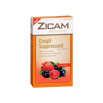 Zicam Naturals Natural Cough Suppressant