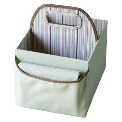 JJ Cole Stripe Diaper Caddy - Green