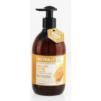 Upper Canada Soap   Candle Upper Canada Soap & Candle Naturally Hand and Body Lotion, Warm Honey Nectar, 12-Ounce Pump Bottle (Pack of 2)