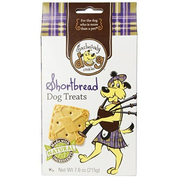Exclusively Dog Shortbread Cookies, 7.6-Ounce Package